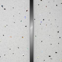 C-Line White Bathroom Ceiling Cladding