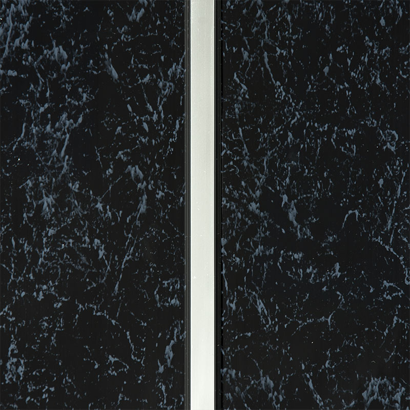C-Line Black Random PVC Ceiling Cladding