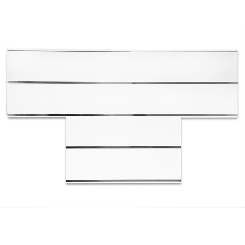 Highlight Silver White Bathroom ceiling cladding