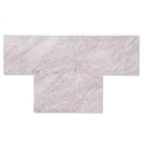 Pink Stone pvc cladding