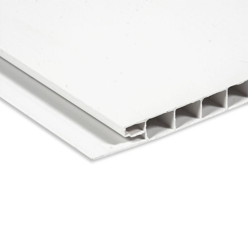 Shiny White cladding panels