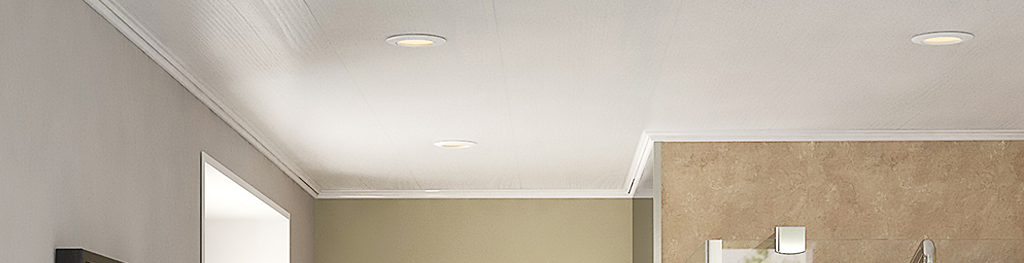 Bathroom ceiling cladding