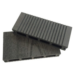 Composite decking black
