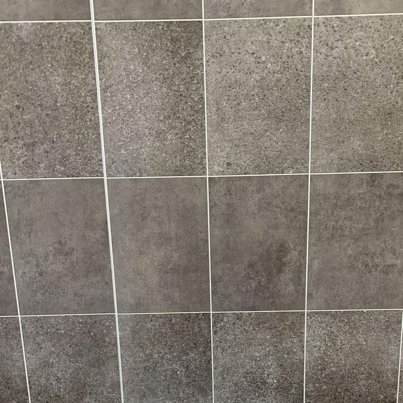 Midnight stone graphite tile